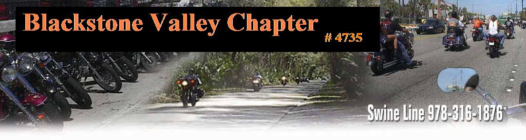 Welcome To Blackstone Valley Chapter H.O.G.